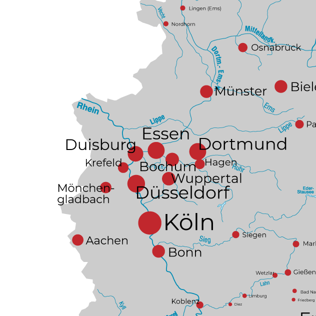 Wuppertal Karte Stadtteile.Regiocommerce Essen